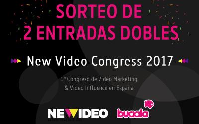 ¡Sorteamos dos entradas para el New Video Congress 2017!