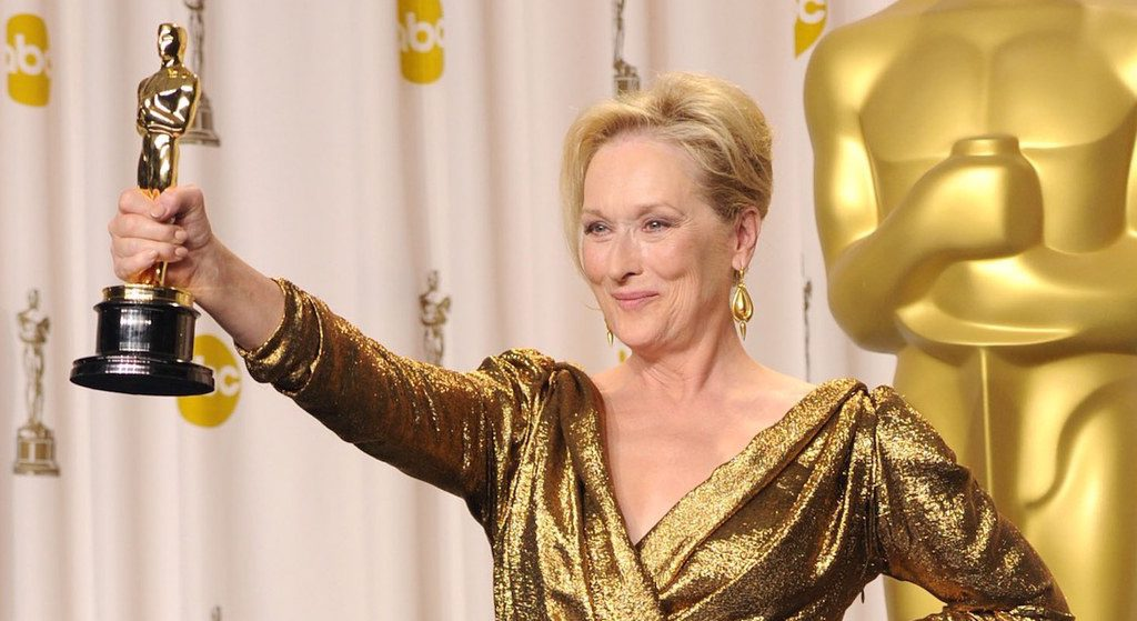 Meryl Streep ganadora Oscars