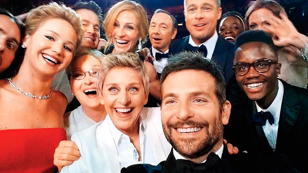 selfie oscars Ellen DeGeneres